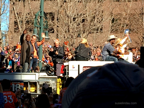 Manning and trophy
