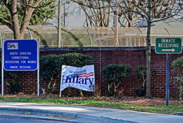 HIllary in NC